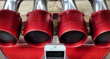 Boxe de esapament pentru iPhone?! iOS iXoost Dock