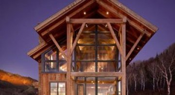 O fuga pana la cabana din lemn de la munte: Colorado Springs Residence