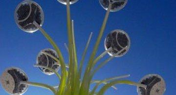 Copacul cu panouri solare, pentru JO 2012