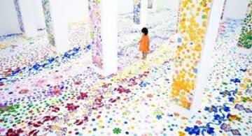 Gradina fermecata de la Muzeul de Arta din Singapore