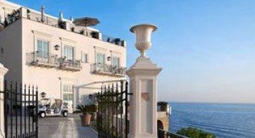 La JK Hotel, pe insula Capri, e mereu vara