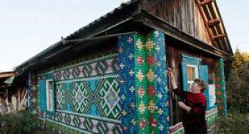 Casa decorata cu 30.000 de capace de o pensionara rusoaica