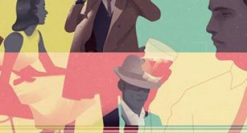 Grafica a la Mad Men, de Jack Hughes