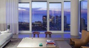 Penthouse la Tel Aviv si galerie de arta contemporana