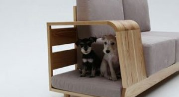 Canapea pentru patrupede, de la Sungji Mun si M.pup