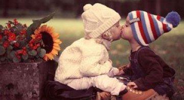 Copiii si iubirea, in 13 fotografii