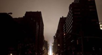Uraganul Sandy a cufundat New Yorkul in bezna