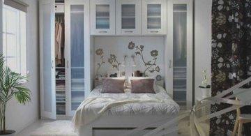 10 idei super-creative pentru dormitoare super-mici