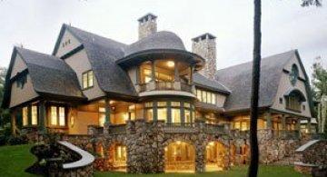 O casa de basm in New Hampshire
