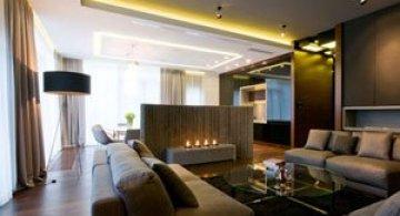 Apartamentul cu pereti cu personalitate, la Varsovia