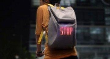 Semnalizare la purtator pentru biciclisti