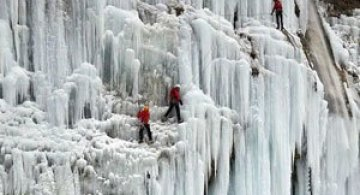 12 imagini incredibile cu cascade inghetate