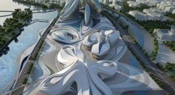 Un nou centru de arta spectaculos in China