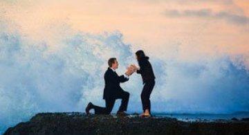 Cerere in casatorie pe val