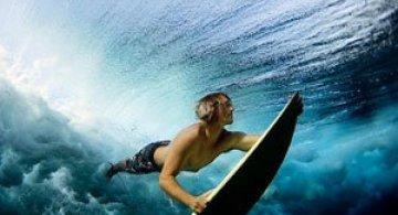 Surf sub valurile oceanului, cu Lucia Griggi