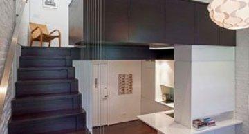 Micro-loft mic, dar elegant la Manhattan
