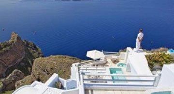 Boutique hotel chic la Santorini