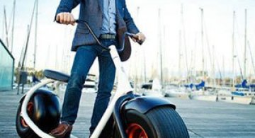 Scuterul Scrooser va revolutiona transportul urban