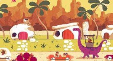 Desene animate in postere de Andrew Kolb