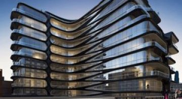 High Line, primul concept Zaha Hadid la New York