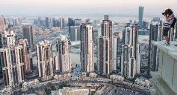 Dubai, fotografiat de la inaltime de Vadim Makhorov