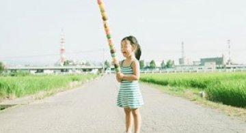 Kanna, fetita cu cea mai bogata imaginatie