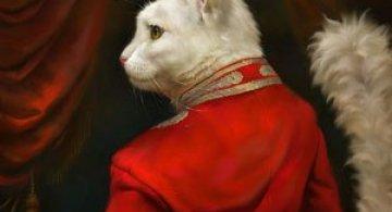 Pisici nobile, pictate de Eldar Zakirov