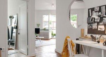 Apartament renovat cu personalitate la Gothenburg, in Suedia