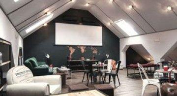 Timisoara: Un birou ca o cafenea