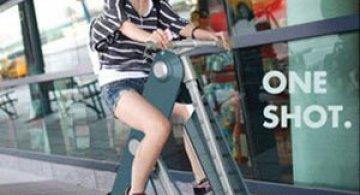 One Shot: Cea mai portabila bicicleta urbana