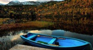 Peisaje superbe cu fiordurile norvegiene