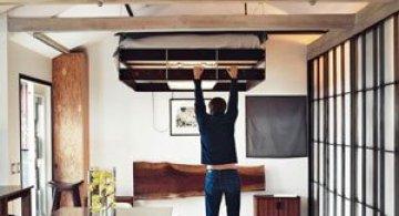 Patul care se ascunde in tavan, de Funn Roberts