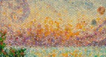 Mozaicuri din plastilina, realizate de o mama