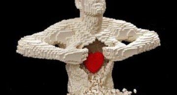 6 sculpturi din LEGO spectaculoase