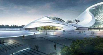 Design impresionant: Centrul cultural de la Harbin, China