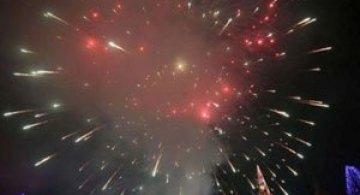 VIDEO: Clujul luminat de artificii de Revelion, in time lapse