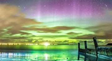 Aurora boreala in Scotia si culorile ei incredibile