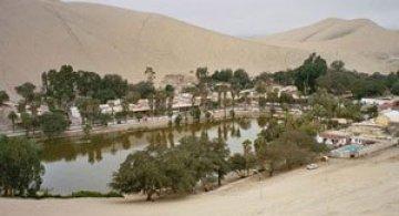Oaza din Peru: Satul Huacachina