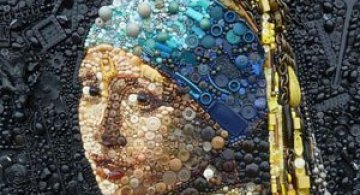 Opere celebre din obiecte banale, de Jane Perkins