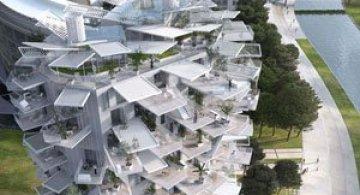 Copacul alb, un bloc de Sou Fujimoto Architects