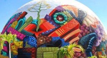 O cupola inspirata de folclor, in Mexic