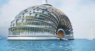 Hotelul plutitor Ark Hotel, de Remistudio