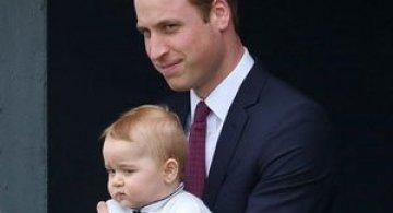 Printul George al Marii Britanii in 10 poze adorabile