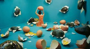 Autoportrete suprarealiste fara Photoshop, de JeeYoung Lee