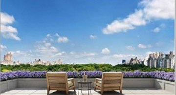 Penthouse cu priveliste la Central Park, New York