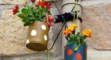 Coltul de rai de acasa! Sunt cele mai frumoase ghivece cu flori