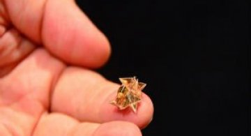 Cel mai mic robotel origami care poate face orice