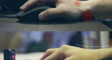 Primul mouse virtual cu proiectie laser din lume