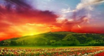 Curcubeie tangibile: 10 colturi ale lumii de un colorit incredibil