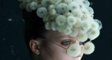 Portrete florale: Cum se transforma puful de papadie in accesoriu chic
